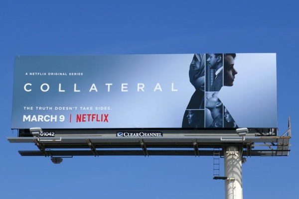 Collateral series premiere billboard