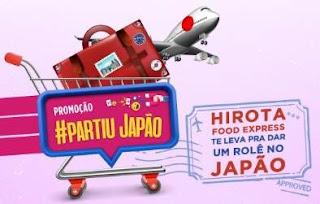 Cadastrar Promoção Hirota Partiu Japão - Nova Promoção Hirota Food Express 2019