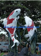 patung Ikan Koi Blitar