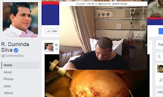 Duminda Silva's Facebook Account Updated