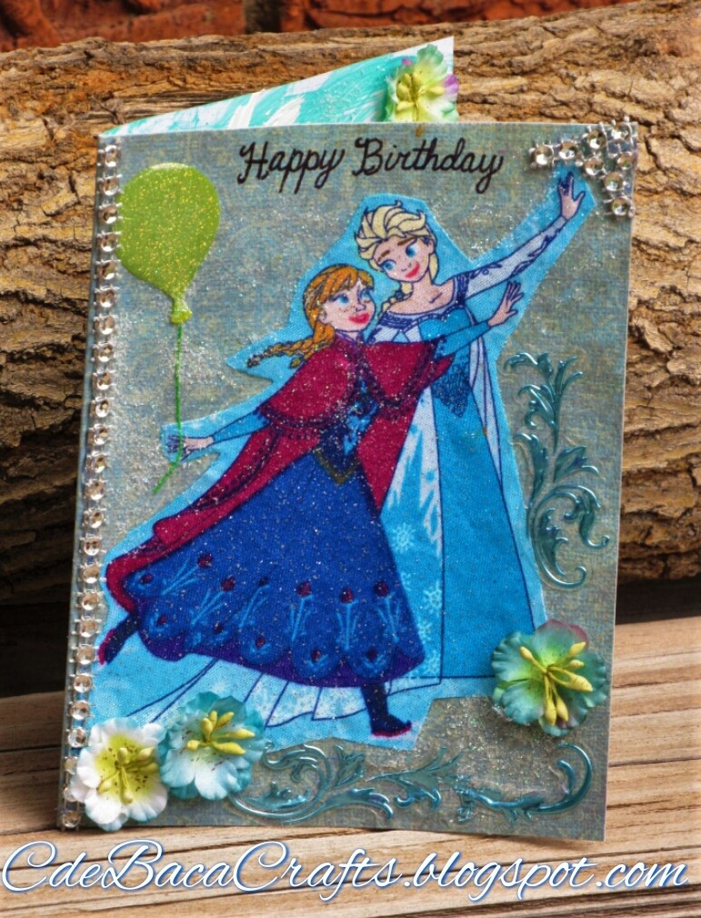 Excellent Card Making Gallery And Inspiration Frozen Happy Birthday Card Birthday Cards Printable Benkemecafe Filternl