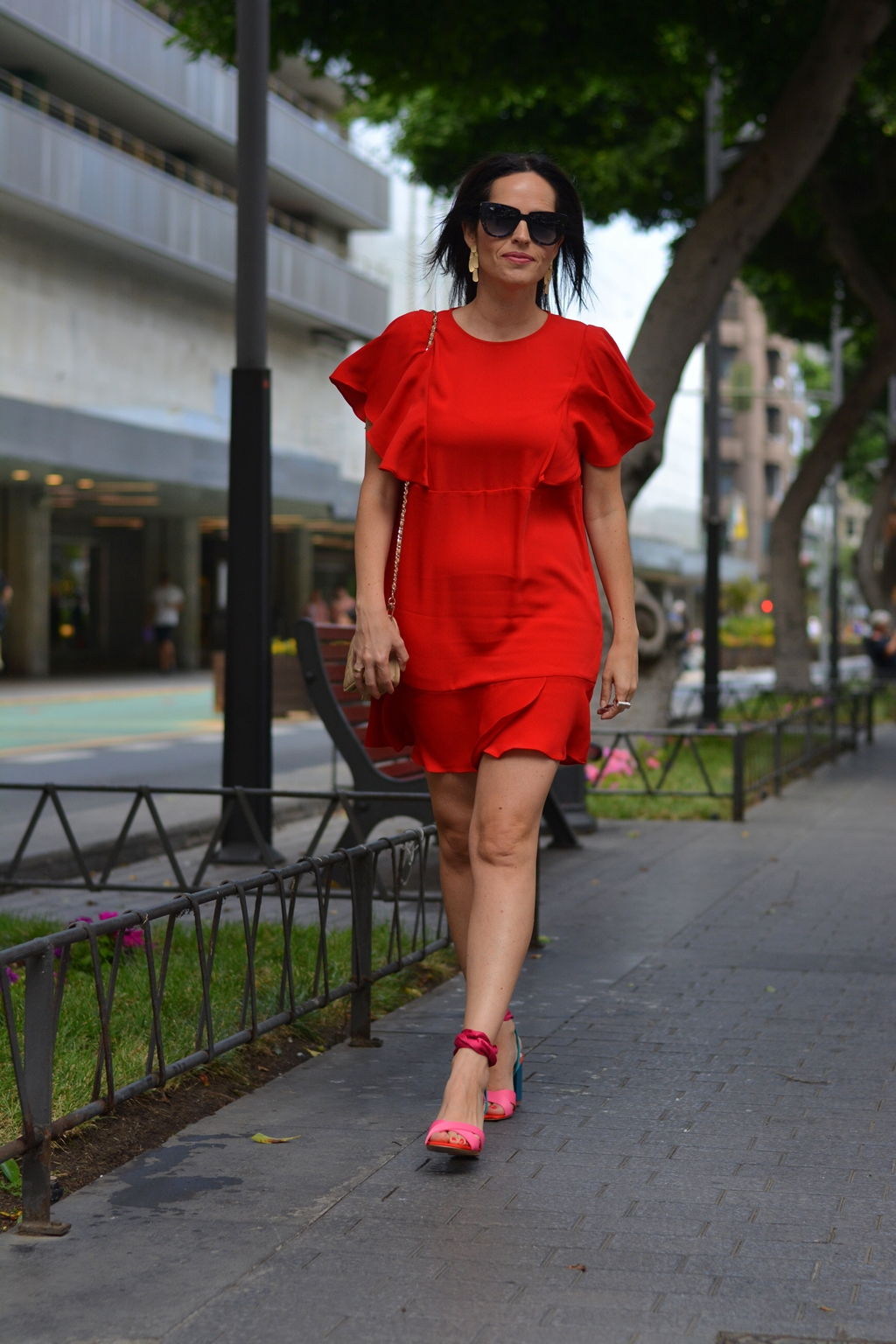 mango-red-dress-outfit-street-style-look