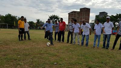 "Turnamen Sepak Bola ""Barakka Cup"" Berlangsung di Siwa"