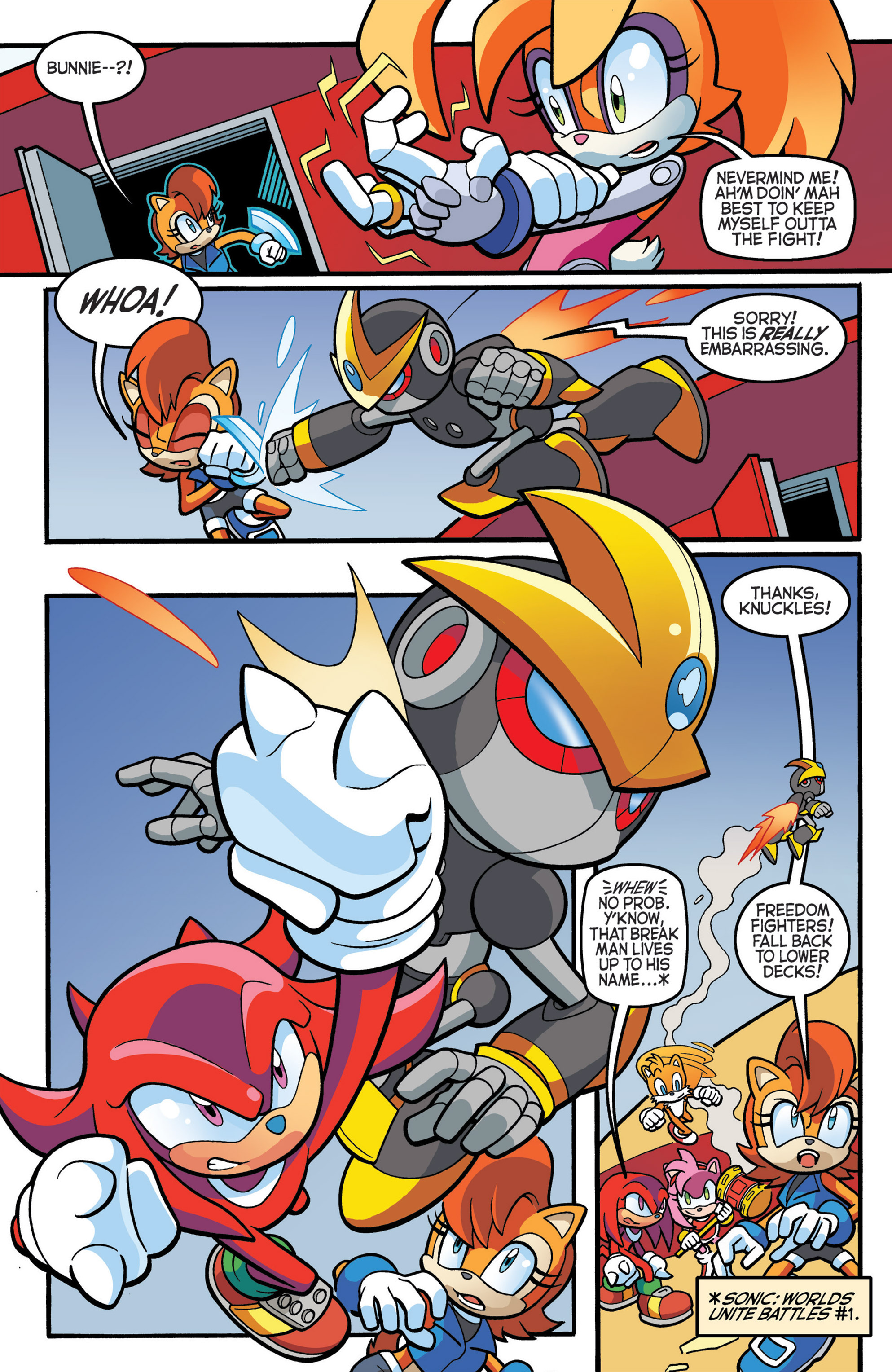 Read online Sonic The Hedgehog comic -  Issue #274 - 8
