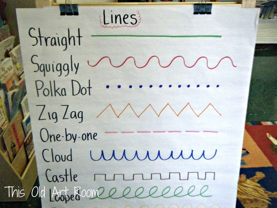 Line Drawing Kindergarten : This old art room lines with kinder