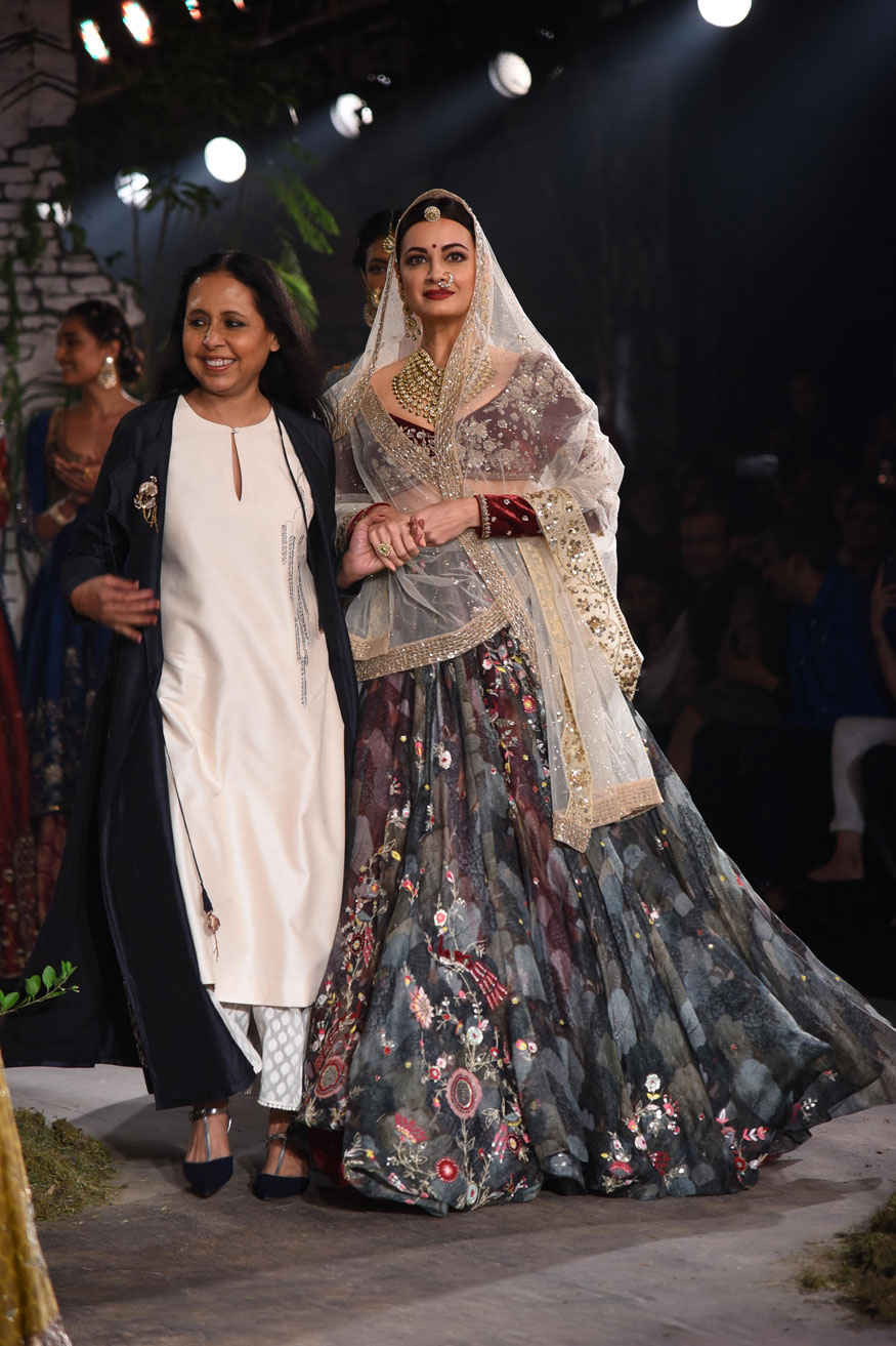 Dia Mirza at India Couture Week 2017 Event Gallery