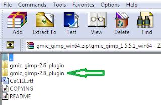 Download dan install plugin untuk GIMP 2.8