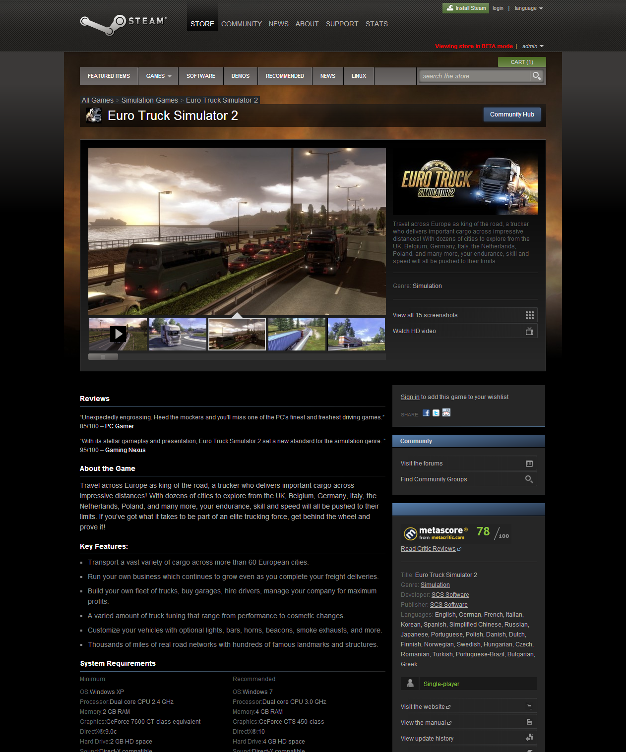 euro truck simulator 2 going east key code