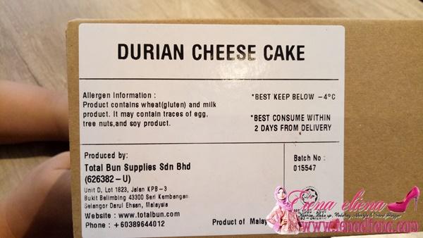 Cheesecake ini telah diakui Halal oleh JAKIM