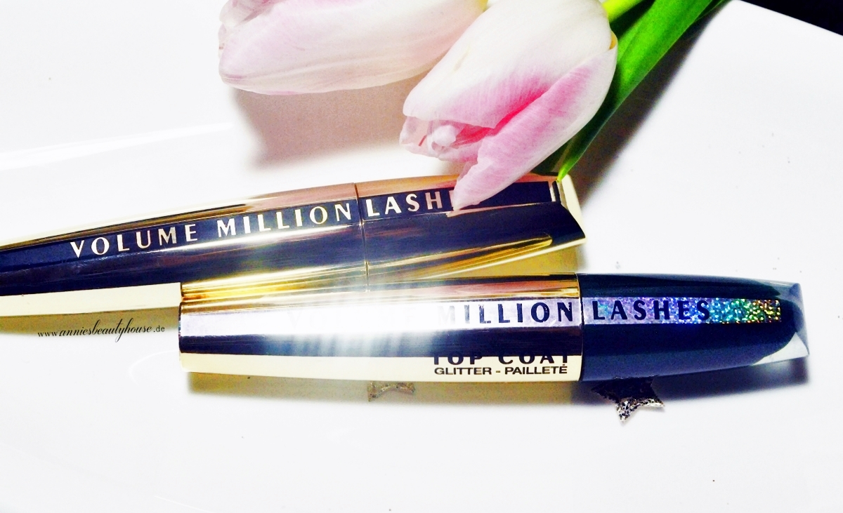 Review L'Oreal Volume Million Lashes + Glitter TopCoat