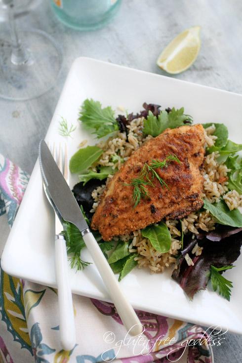 Crispy Pan Fried Catfish (Gluten-Free)
