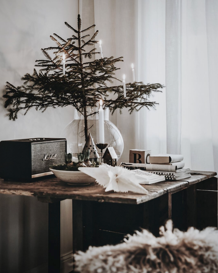 My Scandinavian Home 5 Mini Christmas Tree Ideas For Small Spaces