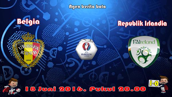 prediksi bola belgia vs republik irlandia euro 2016