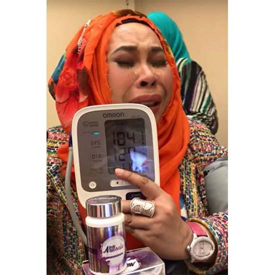 Dato Seri Vida Menghidap Darah Tinggi Gara-Gara Tekanan Perasaan?