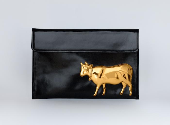 Golden Cow bag - Vincent Billeci FW 2014