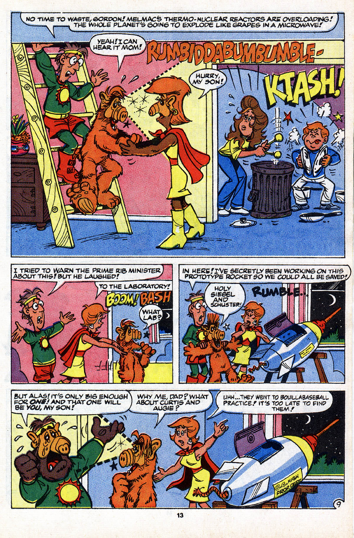 Read online ALF comic -  Issue #28 - 15