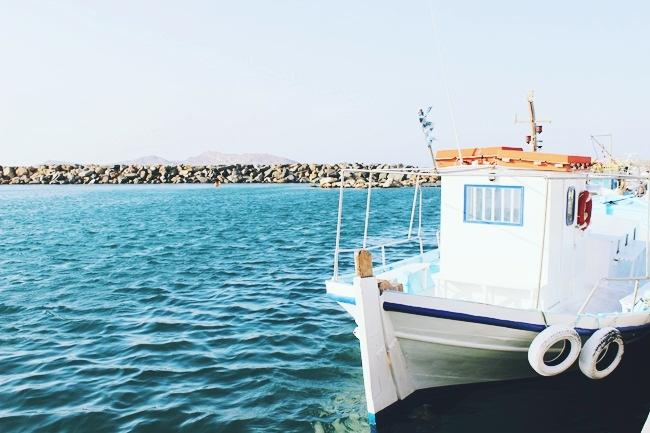 Naoussa port Paros