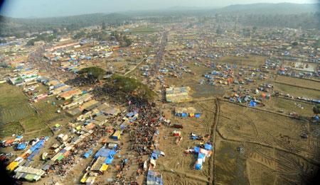 Medaram Sammakka Sarakka Jatara Telangana State Indian Kumbha Mela