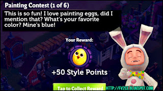 fv2ce, easter rabbit costume, quest text, chick egg
