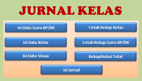 Download Aplikasi Jurnal Kelas Versi Terbaru Tahun 2018/2019