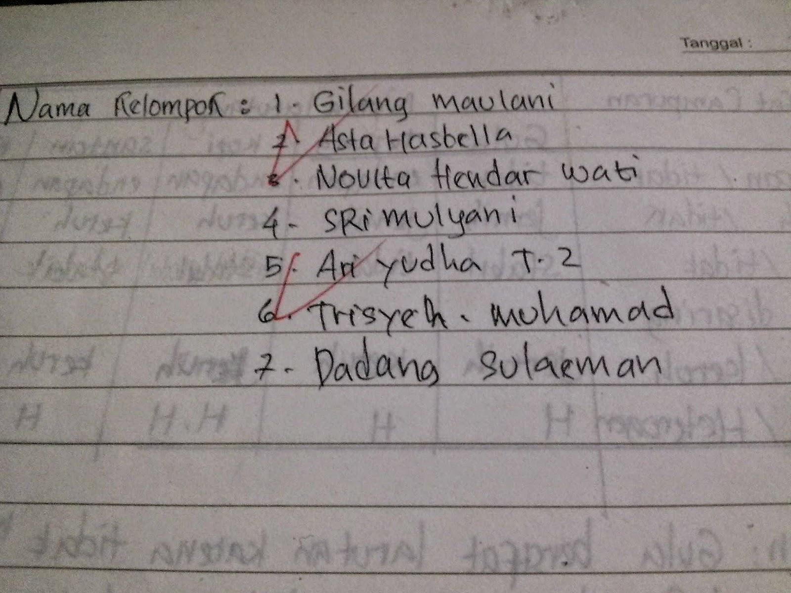 kelompok kimia VIII B