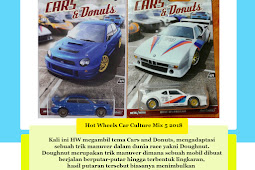 Hot Wheels Car Culture Mix 5 2017 : Cars & Donuts
