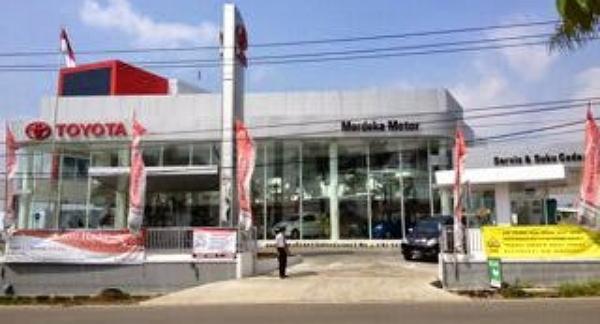 Toyota Merdeka Motor Soreang 1 Dari Daftar Dealer Toyota Di Bandung