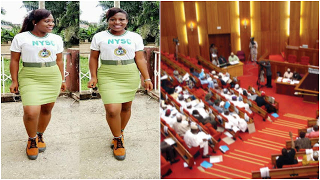 This Is How Senate Reacted To Bill Seeking To Allow NYSC Female Members Wear Skirt