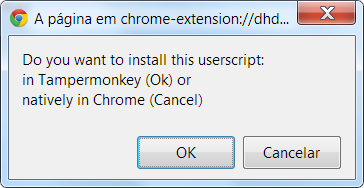 Instalar extensões no Google Chrome sem ser da Chrome Web