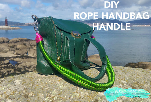 DIY ROPE HANDBAG HANDLE