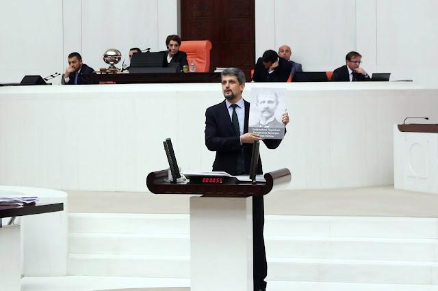 Paylan habló en armenio en el parlamento turco