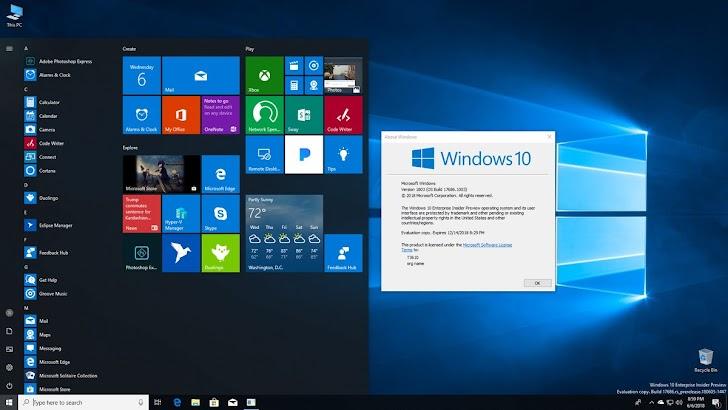 Fitur Switch S Mode Pada Windows 10 Build 17686