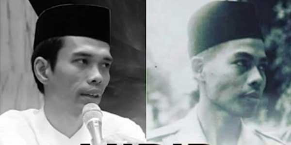 Viral Foto Ustaz Somad Mirip Jenderal Besar Sudirman