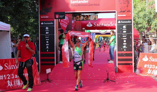 Natalia Peñalva vence la Santander Triathlon Series Gavà 2017