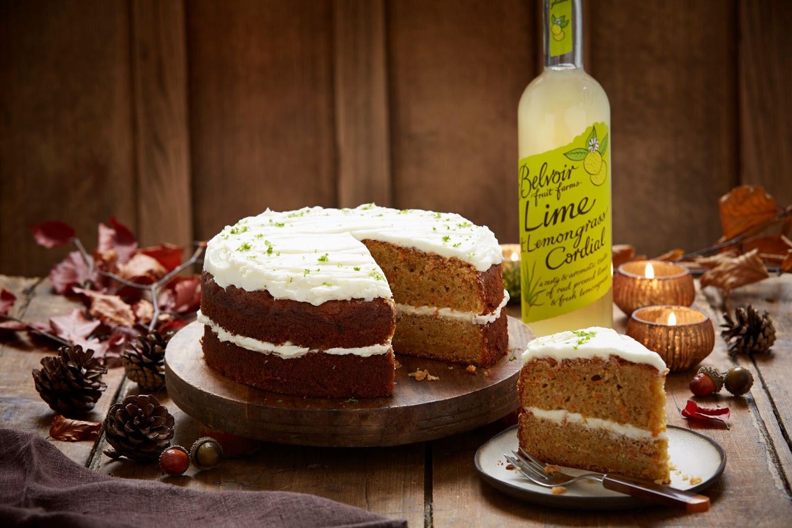 Lime And Lemongrass Carrot Cake