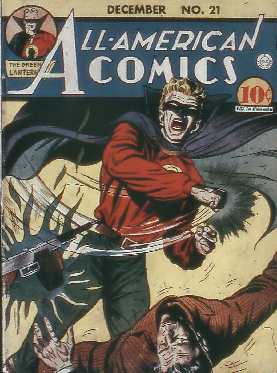 Read online All-American Comics (1939) comic -  Issue #21 - 1