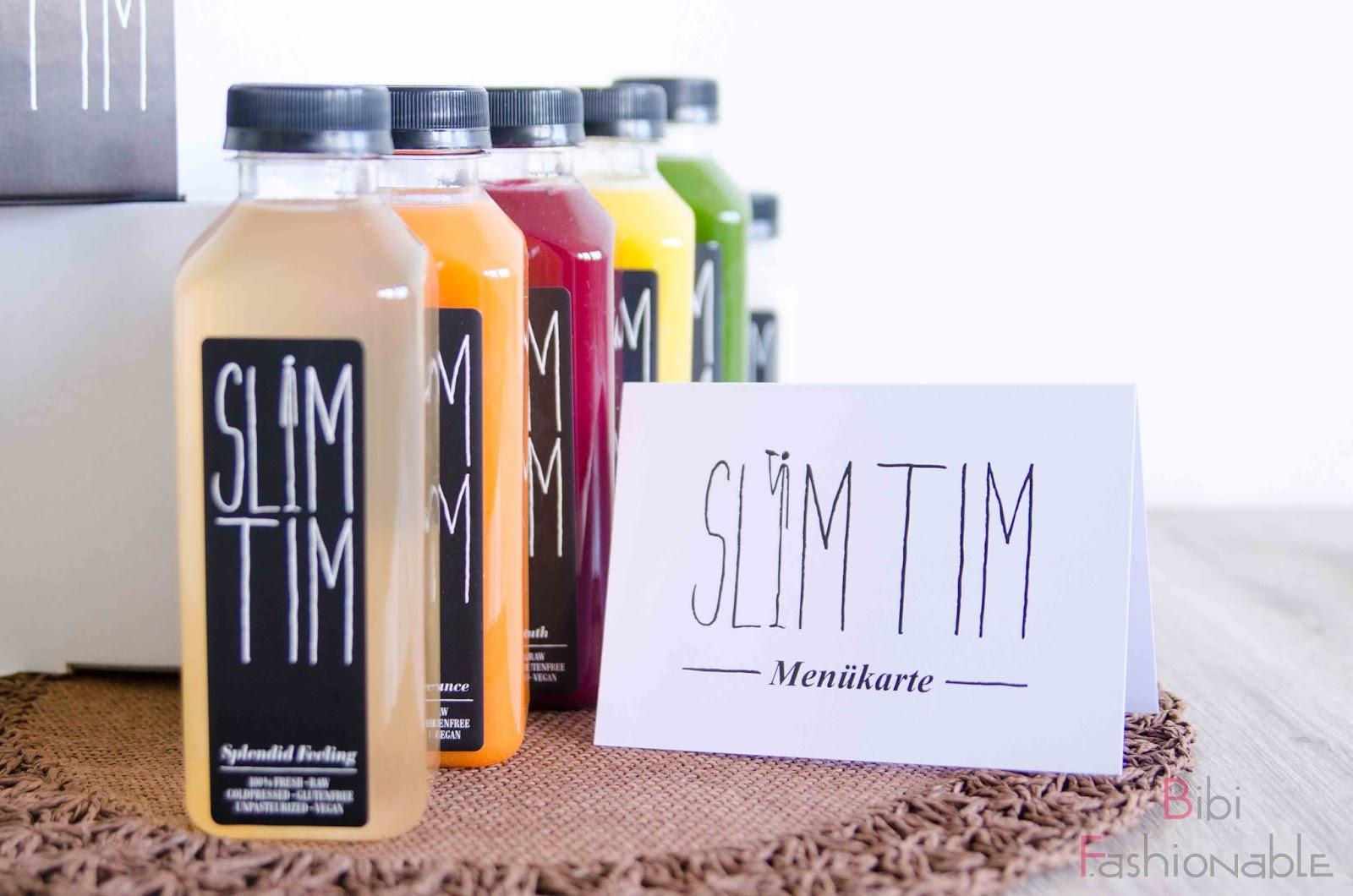 Slim Tim 3 Tage Detox Kur Säfte Menüplan
