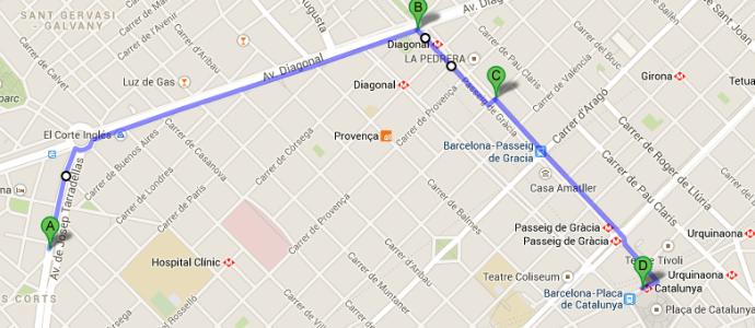 Mapa para Hotel Medium Prisma Barcelona