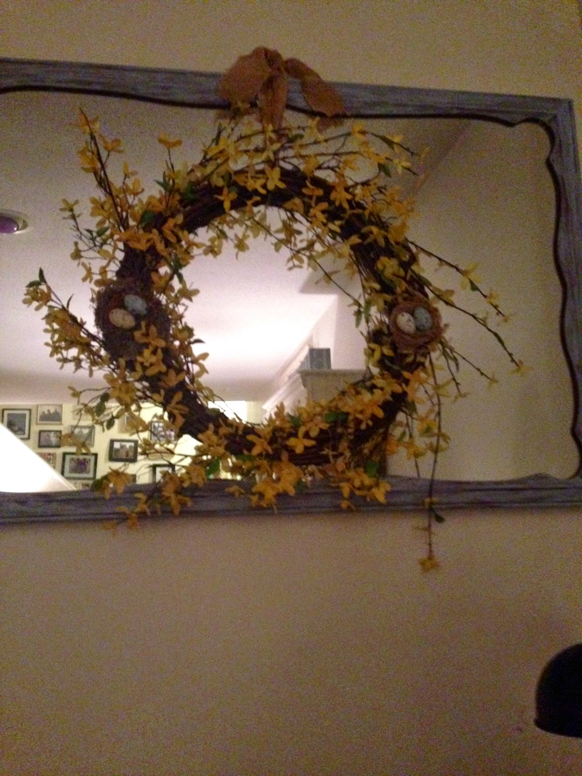 REFINISHED THRIFT STORE MIRROR