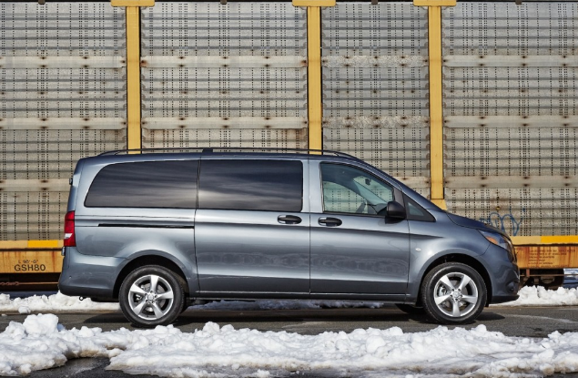 2016 Mercedes-Benz Metris Cargo Van Review