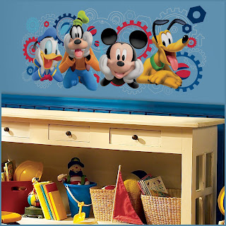 Mickey Mouse Theme Giant Wall Decal