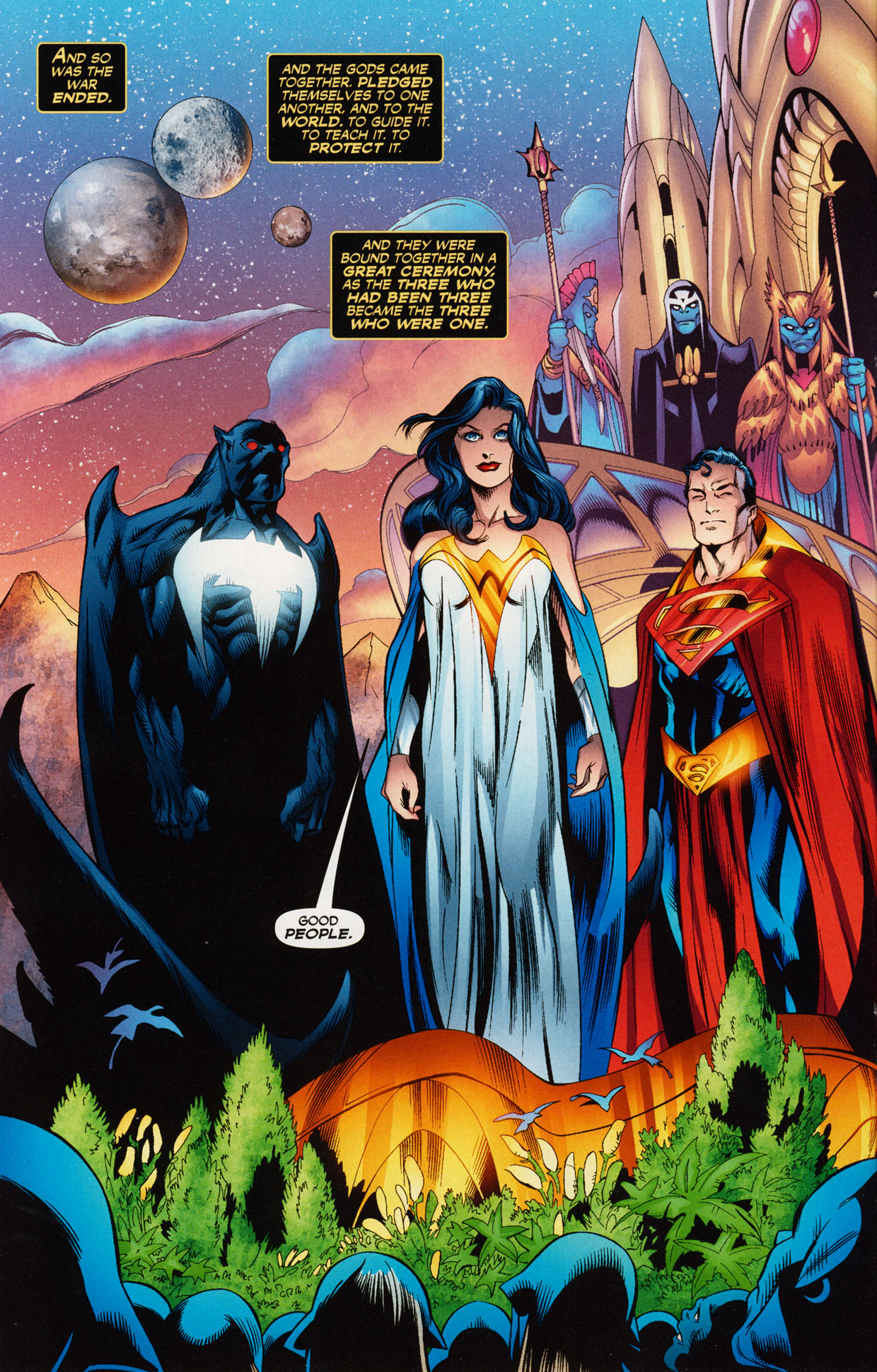 Read online Trinity (2008) comic -  Issue #37 - 12