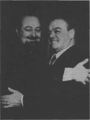 Francisco Canaro con Homero Manzi