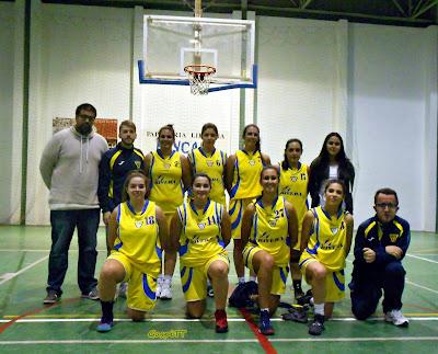 El CB Toxiria femenino escala posiciones en la Provincial tras su doble duelo ante el CD Úbeda