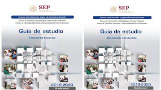 Todas las Guias para la promocion a cargos con funciones de dirección y de supervisión 2019-2020