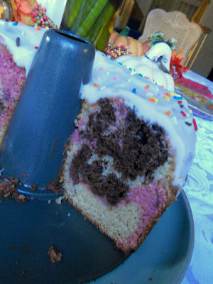 The Year Of The Cookie Neapolitan Marble Bundt Cake