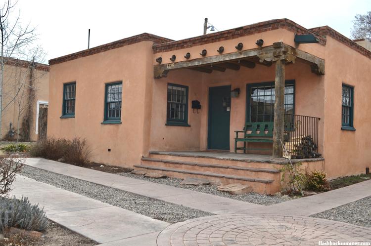 Flashback Summer: santa Fe pueblo architecture
