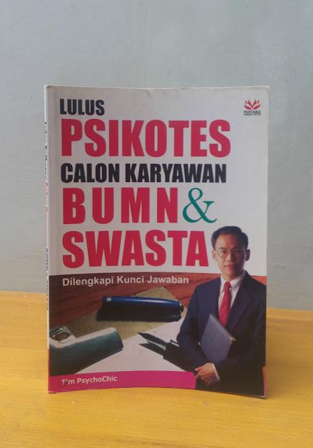 LULUS PSIKOTES CALON KARYAWAN BUMN & SWASTA, Agung Anggoro