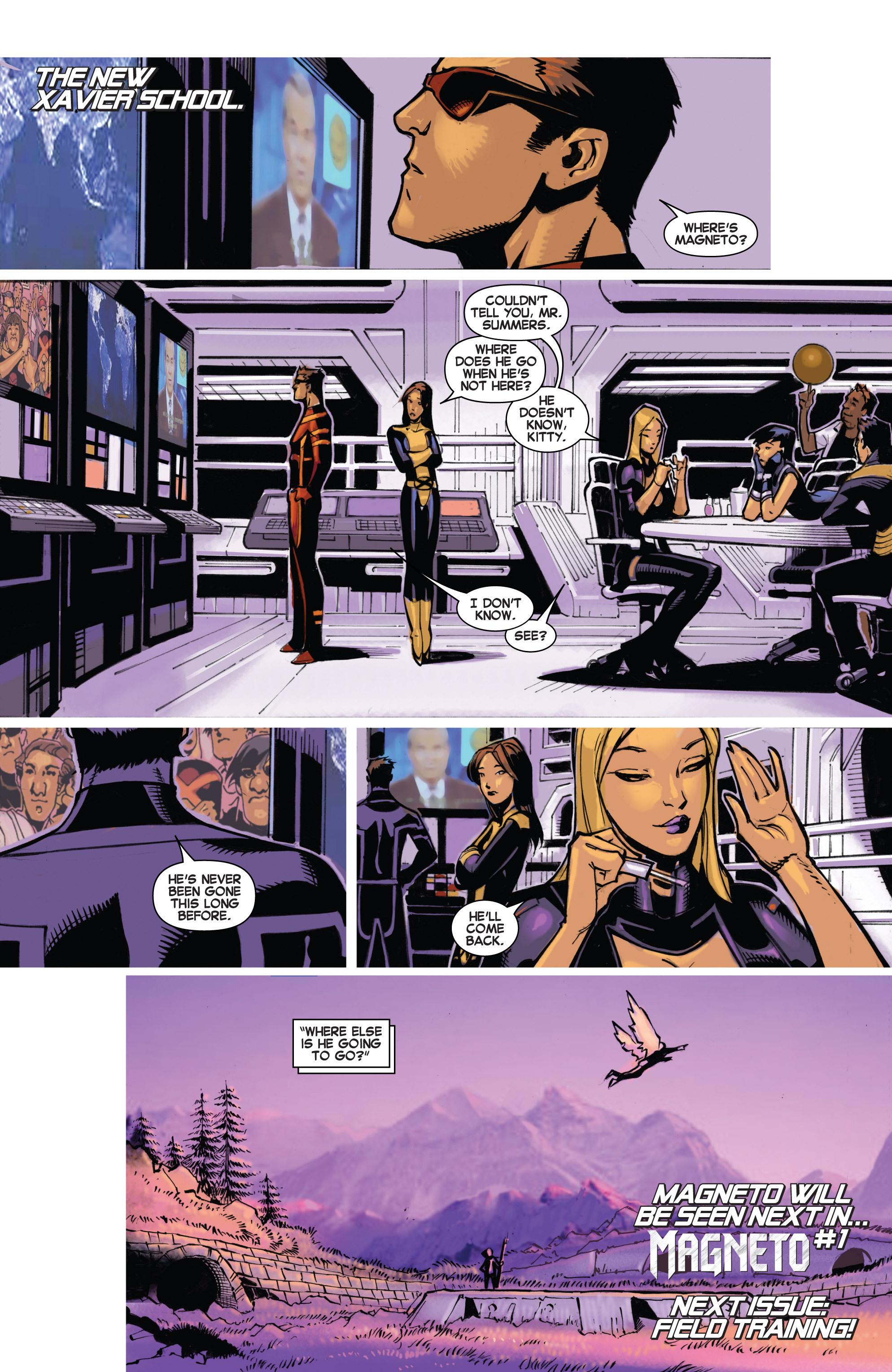 Read online Uncanny X-Men (2013) comic -  Issue #16 - 21
