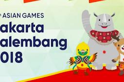 Cabang Olahraga Asian Games 2018 Indonesia